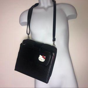 Hello Kitty Black IPad Case Crossbody Bag
